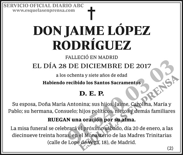 Jaime López Rodríguez